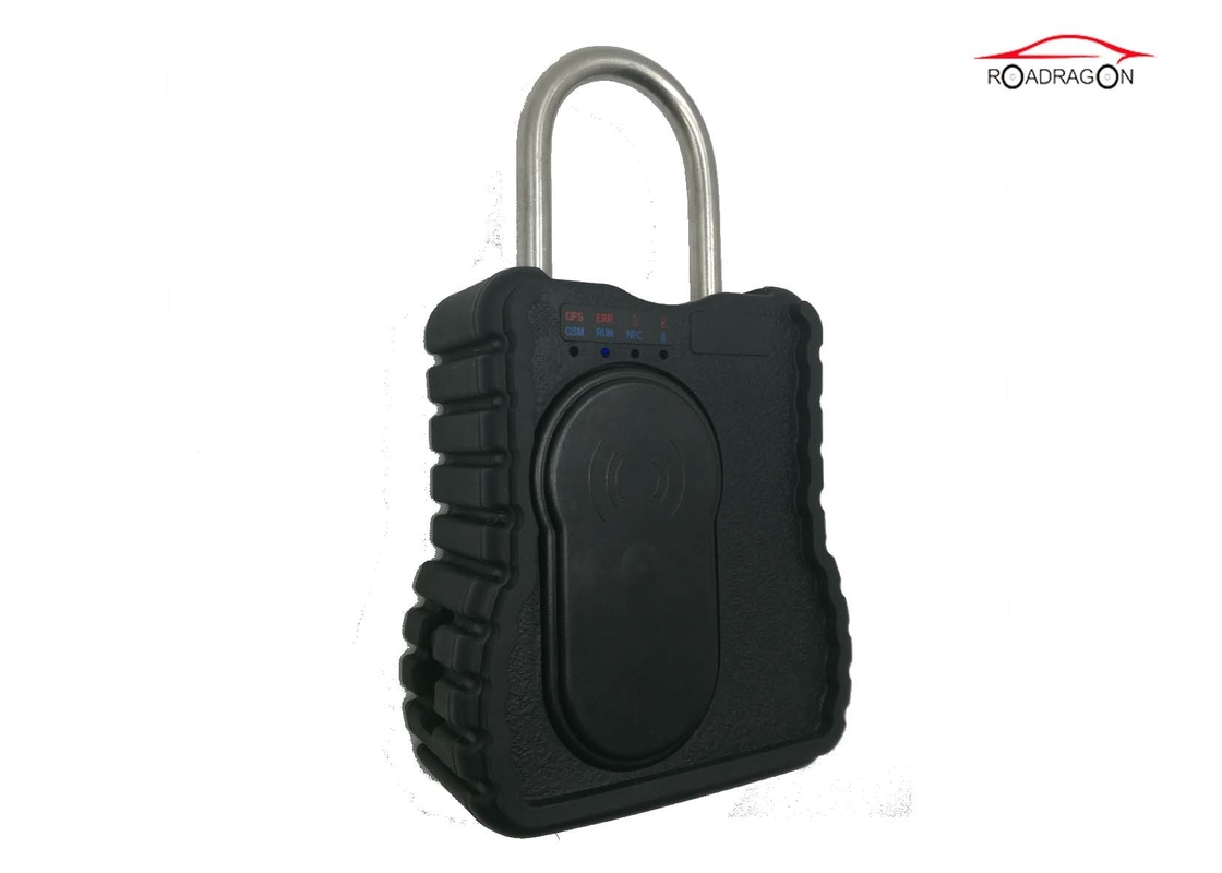 Adjustable Remote Control Padlock , Cargo High Security Padlocks For Containers